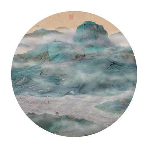 <p>The images bear a striking similarity to classic Chinese landscapes.</p>