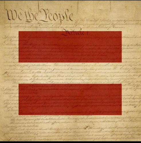 <p>The Constitution for marriage equality.</p>
