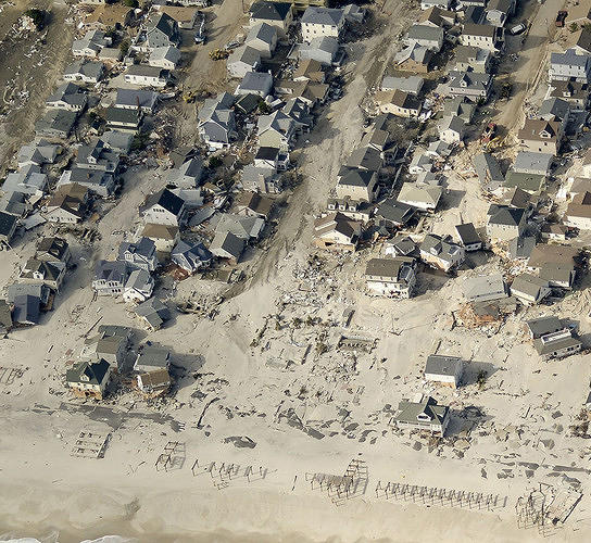 <p>Seaside Heights, New Jersey, After.</p>