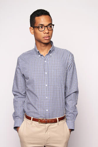 <p>Bishop is a sixth-generation member of the family that owns Pendleton Woolen Mills, an Oregon company that happens to control, according to Bishop, 85% of the American wool button-down market. Their staple shirt, though, looks more lumberjack than J. Crew.</p>