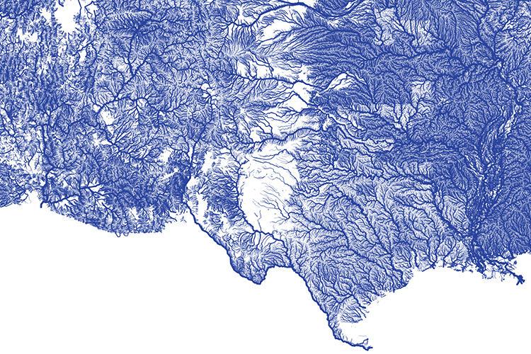 <p>Or that by the time the Rio Grande hits Southern Texas, it's but a shadow of its upstream self.</p>