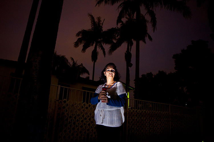 <p>As a first step they've taken a few stories of San Diegans in the dark.</p>