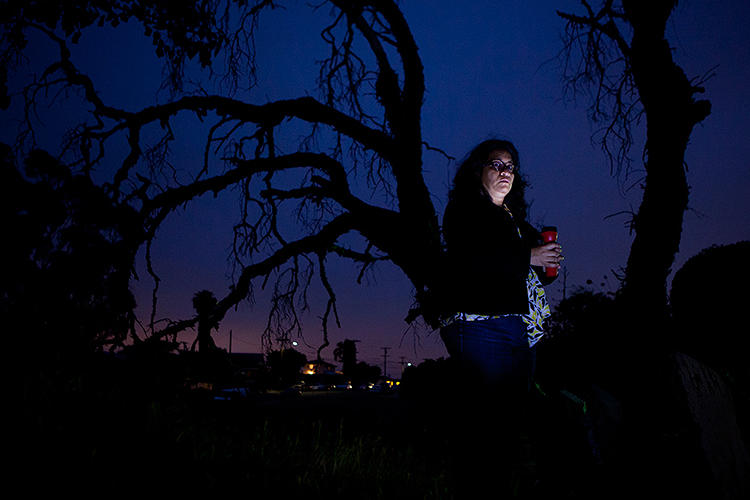 <p>News organization Voice of San Diego is documenting what happens when the city's streetlights are out or poorly placed.</p>