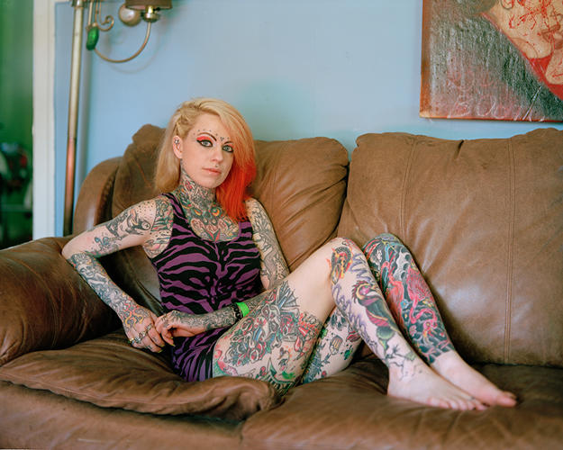 <p>Kirk Crippens's photo-series &quot;Portraitlandia&quot; tries to capture &quot;the most interesting, iconic Portlanders&quot; he could find, like Rose City Strip Club's Rachael Reckless.</p>
