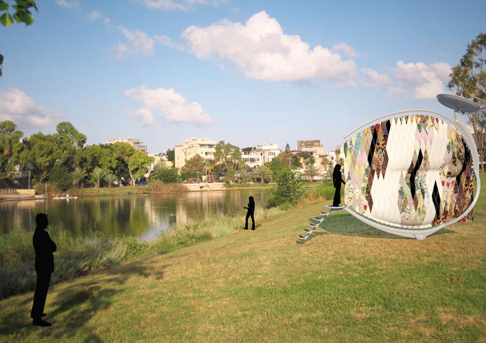 <p>Or you could try this: A final project from the Bezalel Academy of Art and Design's Tanya Shukstelinsky, who built a slim &quot;Cocoon&quot; out of fabric that translates into a living space.</p>