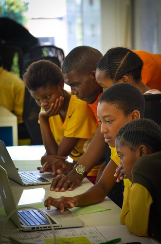 <p>In 2012, founder Kimberly Bryant took Black Girls Code on the road as a summer program, hitting seven American cities and teaching girls to build a web page in a day.</p>