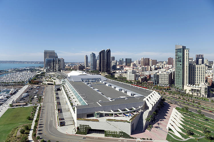 <p>And San Diego's Convention Center.</p>