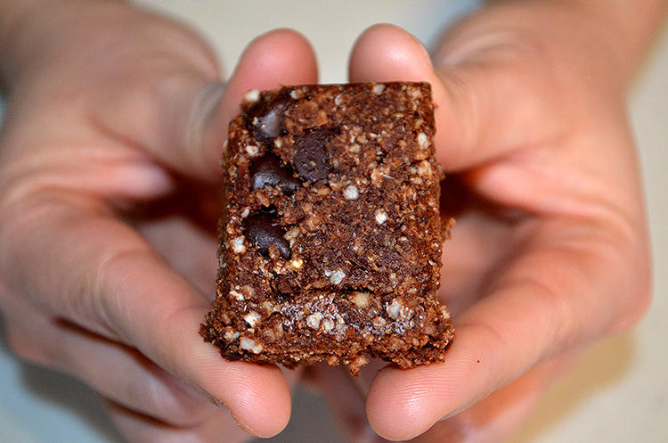 <p>Crater Crunch bars.</p>
