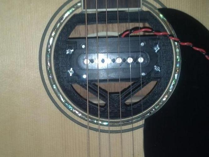 <p>Acoustic guitar pickup.</p>