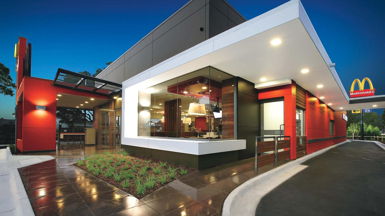 Making Over McDonald - Fast Food Restaurant Exterior Design's   Fast Company   Business + Innovation