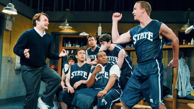 Peyton Manning Snl Locker Room