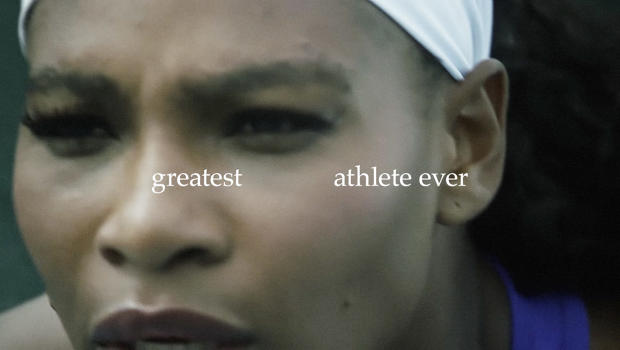 Nike Shows Off All Of The Words That Define Serena Williams