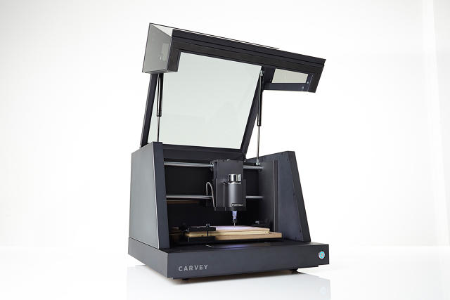 This Machine Instantly Carves Designs Out Of Almost Any