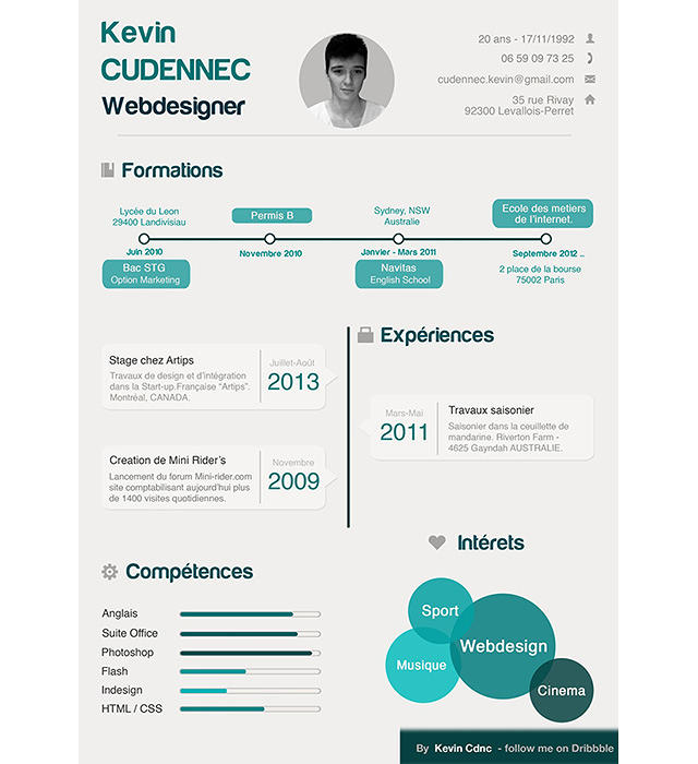 How To Create An Infographic Resume That Doesn't Repel Hiring Managers ...