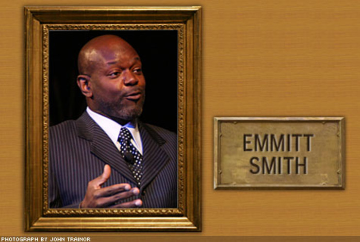 <p> The running back had his shoulder examined by Andrews in 1994. Emmitt Smith went on to take top prize on Dancing with the Stars. Oh, and he also set the NFL record for career rushing yards with 18,355.  </p>