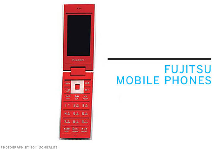 <p> <strong>From NewDealDesign:</strong> These design concepts for Fujitsu Mobile Phones aim to raise the brand's profile as a design leader in Japan.  </p> <p> <strong>Not available in the US</strong>  </p>