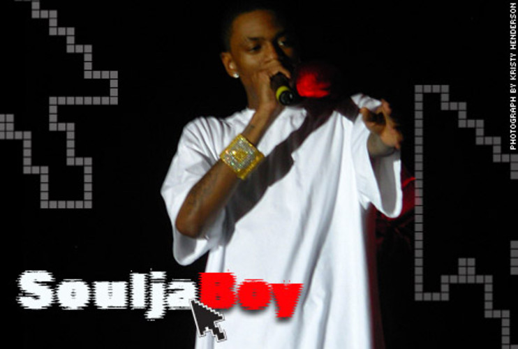 <p>Soulja might be best known for his chart-topping (and annoying) hit &quot;Crank That (Soulja Boy),&quot; but he should also be recognized as one of the first artists to fully exploit Web 2.0 possibilities. In 2005, he earned positive reviews for &quot;Crank That&quot; on SoundClick. Then he created YouTube and MySpace pages to push the song further. He then released a low-budget YouTube video of people doing the &quot;Soulja Boy&quot; dance, which went viral. Shortly after that, Interscope gave him a record deal.</p>