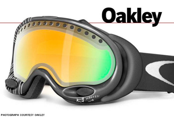 <p>White helped Oakley create its first signature goggle, which quickly became a best seller. All of the company's top athletes now have signature lines. </p>