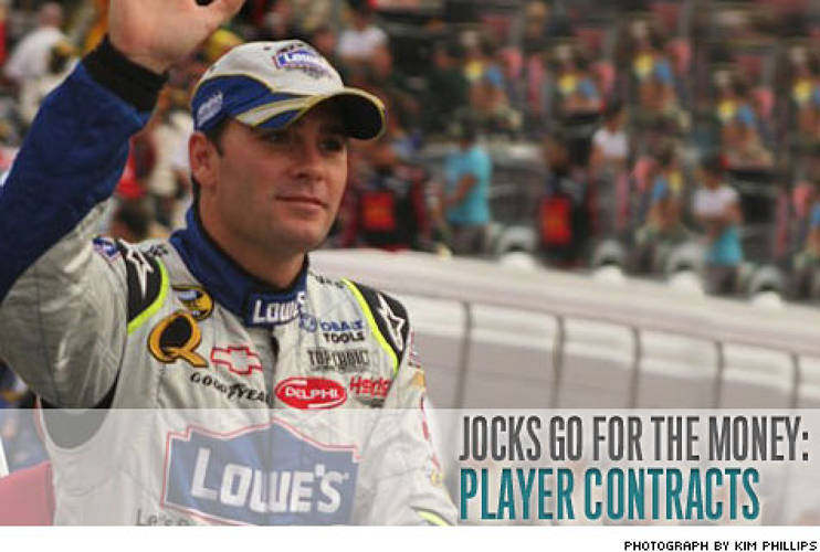 <p>In its second year representing athletes -- who now include David Beckham, Eli Manning, and Nascar champ Jimmie Johnson -- CAA brokered nearly $700 million worth of contracts.</p>