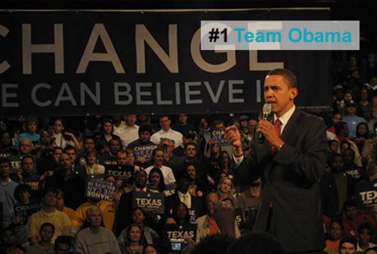 <p>The year's most successful startup took a skinny kid with a funny name and turned him into the most powerful new national brand in a generation. Barack Obama's presidential-campaign team relied on technology -- what was known internally as the &quot;triple O,&quot; or Obama's online operation -- to connect with voters better, faster, and more cheaply than ever before. The team has become the envy of marketers both in and out of politics for proving, among other things, just how effective digital initiatives can be.</p>  <p><a href=&quot;http://www.fastcompany.com/fast50_09/profile/list/team-obama&quot; target=&quot;_new&quot; title=&quot;Team Obama&quot;>-- Read the Full Profile</a></p> <p><strong>The Fast Company 50 Navigation:</strong><br /> <a href=&quot;http://www.fastcompany.com/multimedia/slideshows/content/2009-fast-company-50.html?page=2&quot; title=&quot;Team Obama&quot;>01</a> | <a href=&quot;http://www.fastcompany.com/multimedia/slideshows/content/2009-fast-company-50.html?page=3&quot; title=&quot;Google&quot;>02</a> | <a href=&quot;http://www.fastcompany.com/multimedia/slideshows/content/2009-fast-company-50.html?page=4&quot; title=&quot;Hulu&quot;>03</a> | <a href=&quot;http://www.fastcompany.com/multimedia/slideshows/content/2009-fast-company-50.html?page=5&quot; title=&quot;Apple&quot;>04</a> | <a href=&quot;http://www.fastcompany.com/multimedia/slideshows/content/2009-fast-company-50.html?page=6&quot; title=&quot;Cisco Systems&quot;>05</a> | <a href=&quot;http://www.fastcompany.com/multimedia/slideshows/content/2009-fast-company-50.html?page=7&quot; title=&quot;Intel&quot;>06</a> | <a href=&quot;http://www.fastcompany.com/multimedia/slideshows/content/2009-fast-company-50.html?page=8&quot; title=&quot;Pure Digital Technologies&quot;>07</a> | <a href=&quot;http://www.fastcompany.com/multimedia/slideshows/content/2009-fast-company-50.html?page=9&quot; title=&quot;WuXi PharmaTech&quot;>08</a> | <a href=&quot;http://www.fastcompany.com/multimedia/slideshows/content/2009-fast-company-50.html?page=10&quot; title=&quot;Amazon&quot;>09</a> | <a href=&quot;http://www.fastcompany.com/multimedia/slideshows/content/2009-fast-company-50.html?page=11&quot; title=&quot;Ideo&quot;>10</a> <br /> <a href=&quot;http://www.fastcompany.com/multimedia/slideshows/content/2009-fast-company-50.html?page=12&quot; title=&quot;GE&quot;>11</a> | <a href=&quot;http://www.fastcompany.com/multimedia/slideshows/content/2009-fast-company-50.html?page=13&quot; title=&quot;Hewlett-Packard&quot;>12</a> | <a href=&quot;http://www.fastcompany.com/multimedia/slideshows/content/2009-fast-company-50.html?page=14&quot; title=&quot;Nokia&quot;>13</a> | <a href=&quot;http://www.fastcompany.com/multimedia/slideshows/content/2009-fast-company-50.html?page=15&quot; title=&quot;Gilead Sciences&quot;>14</a> | <a href=&quot;http://www.fastcompany.com/multimedia/slideshows/content/2009-fast-company-50.html?page=16&quot; title=&quot;Facebook&quot;>15</a> | <a href=&quot;http://www.fastcompany.com/multimedia/slideshows/content/2009-fast-company-50.html?page=17&quot; title=&quot;NextEra Energy Resources&quot;>16</a> | <a href=&quot;http://www.fastcompany.com/multimedia/slideshows/content/2009-fast-company-50.html?page=18&quot; title=&quot;Q-Cells&quot;>17</a> | <a href=&quot;http://www.fastcompany.com/multimedia/slideshows/content/2009-fast-company-50.html?page=19&quot; title=&quot;First Solar&quot;>18</a> | <a href=&quot;http://www.fastcompany.com/multimedia/slideshows/content/2009-fast-company-50.html?page=20&quot; title=&quot;IBM&quot;>19</a> | <a href=&quot;http://www.fastcompany.com/multimedia/slideshows/content/2009-fast-company-50.html?page=21&quot; title=&quot;Zappos&quot;>20</a> <br /> <a href=&quot;http://www.fastcompany.com/multimedia/slideshows/content/2009-fast-company-50.html?page=22&quot; title=&quot;Nintendo&quot;>21</a> | <a href=&quot;http://www.fastcompany.com/multimedia/slideshows/content/2009-fast-company-50.html?page=23&quot; title=&quot;Disney&quot;>22</a> | <a href=&quot;http://www.fastcompany.com/multimedia/slideshows/content/2009-fast-company-50.html?page=24&quot; title=&quot;Crispin Porter + Bogusky&quot;>23</a> | <a href=&quot;http://www.fastcompany.com/multimedia/slideshows/content/2009-fast-company-50.html?page=25&quot; title=&quot;TBWA\Worldwide&quot;>24</a> | <a href=&quot;http://www.fastcompany.com/multimedia/slideshows/content/2009-fast-company-50.html?page=26&quot; title=&quot;New England Sports Ventures&quot;>25</a> | <a href=&quot;http://www.fastcompany.com/multimedia/slideshows/content/2009-fast-company-50.html?page=27&quot; title=&quot;DSM&quot;>26</a> | <a href=&quot;http://www.fastcompany.com/multimedia/slideshows/content/2009-fast-company-50.html?page=28&quot; title=&quot;Nike&quot;>27</a> | <a href=&quot;http://www.fastcompany.com/multimedia/slideshows/content/2009-fast-company-50.html?page=29&quot; title=&quot;NPR&quot;>28</a> | <a href=&quot;http://www.fastcompany.com/multimedia/slideshows/content/2009-fast-company-50.html?page=30&quot; title=&quot;Barbarian Group&quot;>29</a> | <a href=&quot;http://www.fastcompany.com/multimedia/slideshows/content/2009-fast-company-50.html?page=31&quot; title=&quot;W.L. Gore & Associates&quot;>30</a> <br /> <a href=&quot;http://www.fastcompany.com/multimedia/slideshows/content/2009-fast-company-50.html?page=32&quot; title=&quot;Busboy Productions&quot;>31</a> | <a href=&quot;http://www.fastcompany.com/multimedia/slideshows/content/2009-fast-company-50.html?page=33&quot; title=&quot;Skidmore, Owings & Merrill&quot;>32</a> | <a href=&quot;http://www.fastcompany.com/multimedia/slideshows/content/2009-fast-company-50.html?page=34&quot; title=&quot;Wal-Mart&quot;>33</a> | <a href=&quot;http://www.fastcompany.com/multimedia/slideshows/content/2009-fast-company-50.html?page=35&quot; title=&quot;Microsoft&quot;>34</a> | <a href=&quot;http://www.fastcompany.com/multimedia/slideshows/content/2009-fast-company-50.html?page=36&quot; title=&quot;Ubisoft&quot;>35</a> | <a href=&quot;http://www.fastcompany.com/multimedia/slideshows/content/2009-fast-company-50.html?page=37&quot; title=&quot;Vestas&quot;>36</a> | <a href=&quot;http://www.fastcompany.com/multimedia/slideshows/content/2009-fast-company-50.html?page=38&quot; title=&quot;Chevron Energy Solutions&quot;>37</a> | <a href=&quot;http://www.fastcompany.com/multimedia/slideshows/content/2009-fast-company-50.html?page=39&quot; title=&quot;CAA&quot;>38</a> | <a href=&quot;http://www.fastcompany.com/multimedia/slideshows/content/2009-fast-company-50.html?page=40&quot; title=&quot;L-3 Communications&quot;>39</a> | <a href=&quot;http://www.fastcompany.com/multimedia/slideshows/content/2009-fast-company-50.html?page=41&quot; title=&quot;Weta Digital&quot;>40</a> <br /> <a href=&quot;http://www.fastcompany.com/multimedia/slideshows/content/2009-fast-company-50.html?page=42&quot; title=&quot;Lego&quot;>41</a> | <a href=&quot;http://www.fastcompany.com/multimedia/slideshows/content/2009-fast-company-50.html?page=43&quot; title=&quot;Emirates&quot;>42</a> | <a href=&quot;http://www.fastcompany.com/multimedia/slideshows/content/2009-fast-company-50.html?page=44&quot; title=&quot;Genzyme&quot;>43</a> | <a href=&quot;http://www.fastcompany.com/multimedia/slideshows/content/2009-fast-company-50.html?page=45 title=&quot;Etsy&quot;>44</a> | <a href=&quot;http://www.fastcompany.com/multimedia/slideshows/content/2009-fast-company-50.html?page=46&quot; title=&quot;BYD&quot;>45</a> | <a href=&quot;http://www.fastcompany.com/multimedia/slideshows/content/2009-fast-company-50.html?page=47&quot; title=&quot;Warner Music Group&quot;>46</a> | <a href=&quot;http://www.fastcompany.com/multimedia/slideshows/content/2009-fast-company-50.html?page=48&quot; title=&quot;Aravind Eye Care System&quot;>47</a> | <a href=&quot;http://www.fastcompany.com/multimedia/slideshows/content/2009-fast-company-50.html?page=49&quot; title=&quot;Toyota&quot;>48</a> | <a href=&quot;http://www.fastcompany.com/multimedia/slideshows/content/2009-fast-company-50.html?page=50&quot; title=&quot;Pelamis Wave Power&quot;>49</a> | <a href=&quot;http://www.fastcompany.com/multimedia/slideshows/content/2009-fast-company-50.html?page=51&quot; title=&quot;Raser Technologies&quot;>50</a></p>