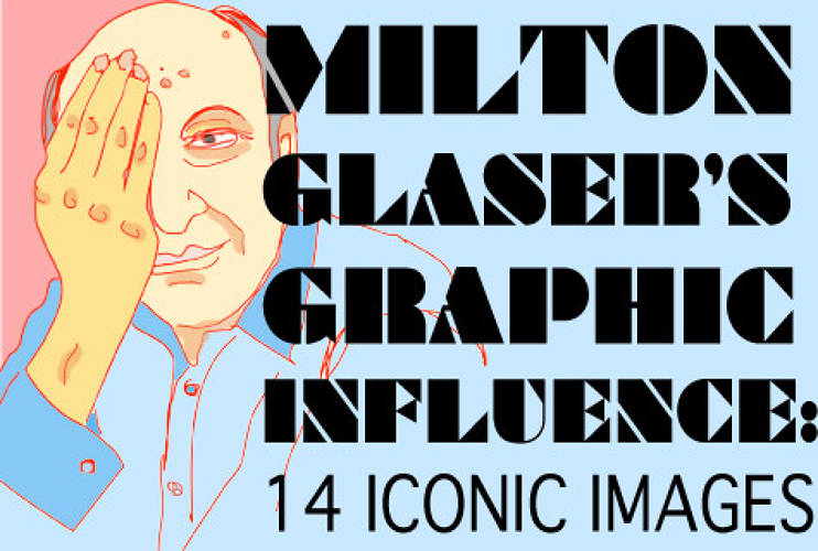 <p>On June 26, <a href=&quot;http://www.miltonglaser.com/&quot; target=&quot;_blank&quot;>Milton Glaser</a> turned 80 but there's no retirement in sight for the world's most celebrated graphic designer. Best known for that ubiquitous I ♥ NY logo that is about as impossible for a New Yorker to avoid as the subway, Glaser continues to make indelible marks on design, pop culture, and his hometown of New York City. As the new documentary <a href=&quot;http://www.arthousefilmsonline.com/2009/03/milton-glaser-to-inform-deligh.html&quot; target=&quot;_blank&quot;><em>Milton Glaser: To Inform and Delight</em></a> directed by Wendy Keys <a href=&quot;http://www.miltonglaser.com/?id=63&quot; target=&quot;_blank&quot;>screens</a> across the country, we took a moment to pluck 14 iconic images from Glaser's archives that we thought epitomized the slogan emblazoned on his office door: &quot;Art is Work.&quot;</p>
