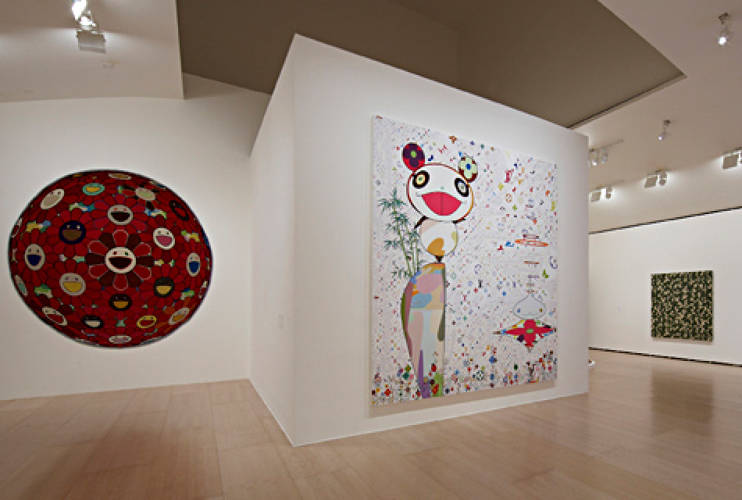 <p>Interior views of the Exhibition ©<em>MURAKAMI</em> at The Guggenheim Museum Bilbao, Spain, February, 2009. </p>