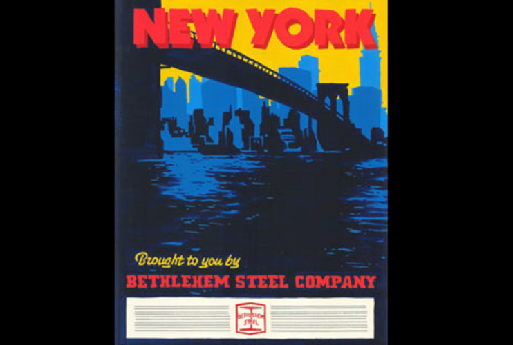 <p><strong>MAD WORLD:</strong> SC's creative team breaks into brainstorm mode for industrial giant Bethlehem Steel. Each has an easel to present with slogans such as, &quot;New York City, brought to you by Bethlehem Steel Company,&quot; for several major American cities. The CEO, unimpressed, awaits Don to throw him another pitch. He comes up with an &quot;Oh Little Town of Bethlehem&quot; theme, and with the company's owner still unimpressed, he decides on a pitch from Pete: &quot;Bethlehem Steel is the backbone of America.&quot; <br />Photo: © 2009 American Movie Classics Company LLC. All rights reserved. </p>