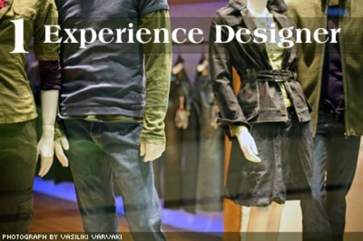 <p>These retail industry pros create the essence and aura of a store. Experience designers go beyond the look of a place, creating a unique experience in which shoppers can immerse themselves. The shops created by an experience designer are often considered works of art -- mini universes unto themselves. </p>