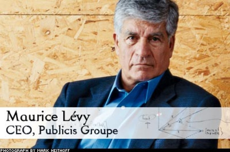 <p> Lévy has bet more than $1 Billion that he can define the future of advertising. Publicis purchased the interactive agency Digitas and then created Honeyshed, a place where brands can play with the people who love them -- a Web-based shopping center or interactive infomercial. His goal is to make his company the industry's premier digital-marketing outfit, to &quot;invent the blueprint of the agency of the future.&quot;<br /> <a href=&quot;/magazine/121/a-mad-man-gets-his-head-together.html&quot; target=&quot;_blank&quot;>Learn More</a> </p>
