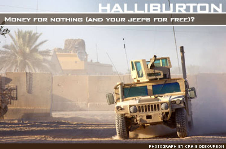 <p>KBR, an affiliated of this federal contracting behemoth once led by Vice President Dick Cheney, faces numerous False Claims charges and federal investigations for massively over-billing its $2.4 billion military support contract in Iraq.</p>