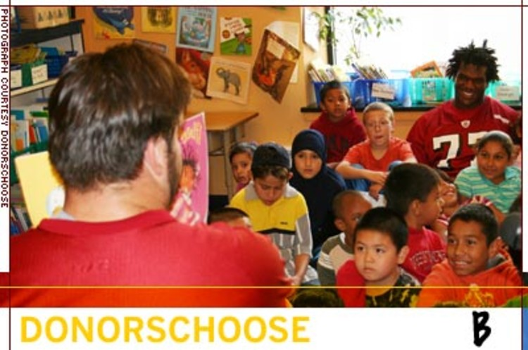 <p>DonorsChoose has channeled nearly $8 million worth of resources to more than 470,000 students in four cities.</p>