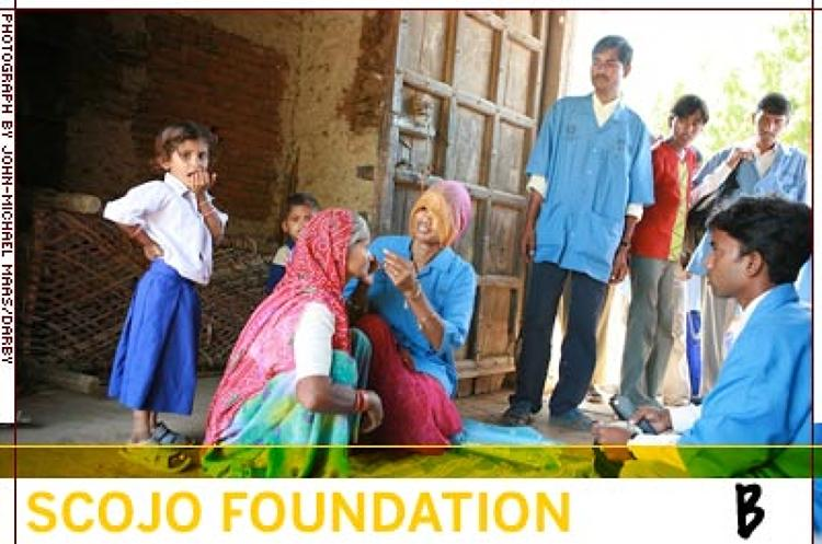 <p>Founded in 2001, Scojo Foundation improves the economic status of families in the developing world by broadening access to affordable reading glasses via profitable microfranchises. In four years, Scojo has sold more than 100,000 reading glasses in seven countries. </p>