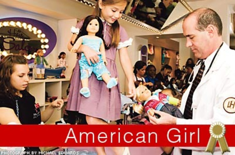 <p>American Girl was created in 1986 by Pleasant T. Rowland, whose ambition was to create a line of high-quality dolls based on historically correct characters, then bring them to life in a series of kid-friendly mininovels.</p>