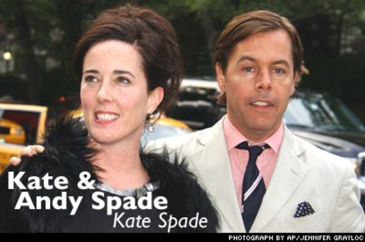 <p>The Spades epitomize the term &quot;<a href=&quot;http://www.fastcompany.com/magazine/92/open_power-couple.html&quot;>Power Couple</a>.&quot; Kate's conservativeness and attention to detail creates the products; Andy's vision and curiosity formulates the ideas. Together they have created an unbeatable brand.</p>