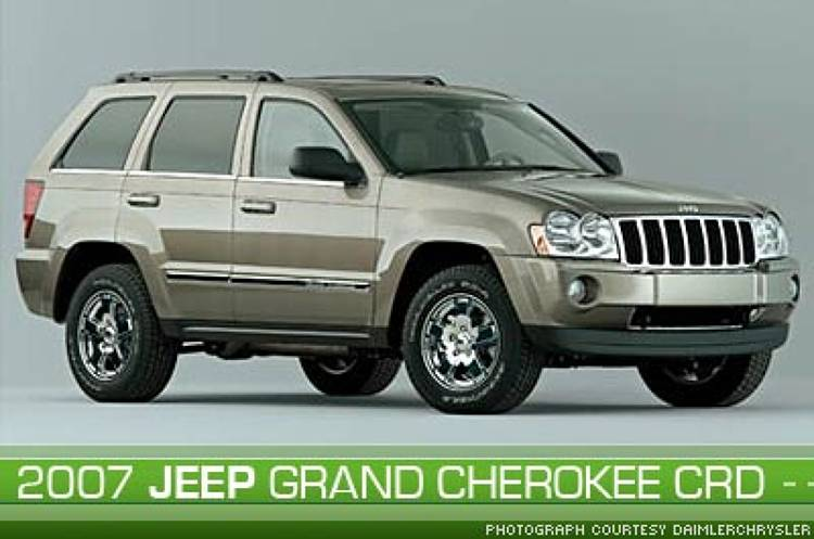 <p><a href=&quot;http://www.daimlerchrysler.com&quot;>DaimlerChrysler</a>'s upcoming Jeep Grand Cherokee CRD will be shipped to dealers with a tank-full of B5 -- a diesel fuel blend made from soybean oil, fast-food grease, or vegetable oil. The SUV's clean diesel technology will improve fuel economy by up to 30 percent and has up to 20 percent fewer carbon dioxide (CO2) emissions.</p>