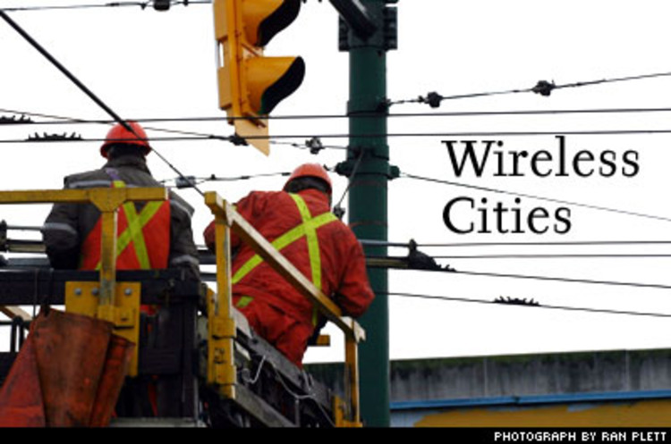 <p>Forget about hot spots. Think hot towns. Wireless Internet access is in great demand; it's just not that attractive a business model for service providers (witness this year's death of Cometa, which served McDonald's). So what if your town gives it away (or offers it supercheap)? It's a smart marketing tool to attract visitors, it creates all kinds of possibilities for local businesses to market themselves, and it's not that expensive. Philadelphia is considering turning a 135 square-mile area into a hot spot at a cost of about $10 million. Cities such as Cleveland and Spokane, Washington, currently offer limited coverage in their burgs. Wireless cities would also bring broadband to inner-city communities. But it might cripple businesses banking on broadband access fees, such as the telcos. Boo hoo.</p>