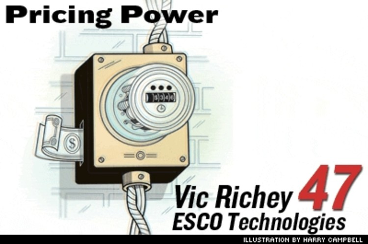 <p>Advanced Metering Infrastructure from ESCO Technologies lets utilities price power hour by hour, based on demand. In November, ESCO landed a $300 million contract for 5 million California buildings. And the federal Energy Policy Act of 2005 encourages all states to evaluate real-time electrical metering.</p>