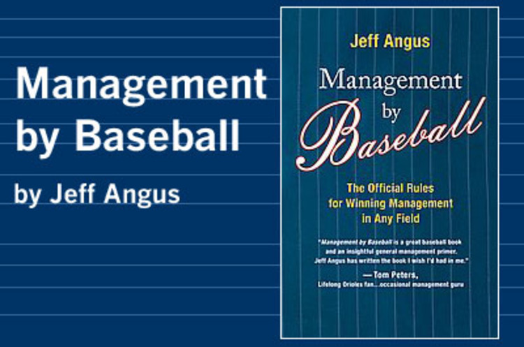 <p>America's pastime is an apt metaphor for the skills required of today's leaders -- processing a mountain of data quickly in a rapidly changing environment, anticipating and preparing for what's going to happen in a given situation, and constantly reinventing yourself. You can learn a lot more from baseball than who's on first. Read our Q&A with Angus <a href=&quot;http://www.fastcompany.com/magazine/105/open_next-qa.html&quot; target=&quot;_new&quot; title=&quot;Baseball&quot;>here</a>.<br /><strong><a href=&quot;http://www.amazon.com/gp/redirect.html?ie=UTF8&location=http%3A%2F%2Fwww.amazon.com%2FManagement-Baseball-Official-Rules-Winning%2Fdp%2F0061119075%2Fsr%3D1-1%2Fqid%3D1165509469%3Fie%3DUTF8&s%3Dbooks&tag=fastcompanycom&linkCode=ur2&camp=1789&creative=9325&quot;>Buy the Book</a><img src=&quot;http://www.assoc-amazon.com/e/ir?t=fastcompanycom&amp;l=ur2&amp;o=1&quot; width=&quot;1&quot; height=&quot;1&quot; border=&quot;0&quot; alt=&quot;&quot; style=&quot;border:none !important; margin:0px !important;&quot; /> </strong></p>