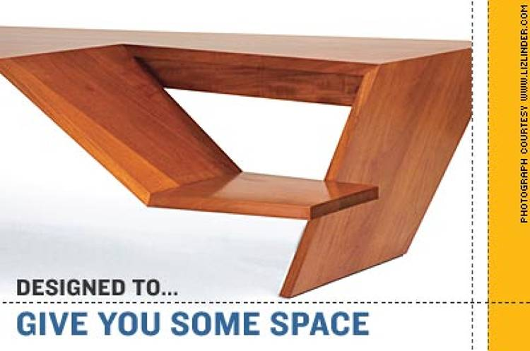 <p><strong>Charles Rose's mahogany split-level desk</strong> keeps obstreperous offspring in sight--but out of reach of your keyboard. In an odd bit of neotraditional branding, the piece is called the Executive Mother and Child Desk, but we're guessing nonexecutive dads could use it too. <br />$19,500 <a href=&quot;http://www.charlesrosearchitects.com/&quot; target=&quot;_new&quot;>www.charlesrosearchitects.com</a></p>