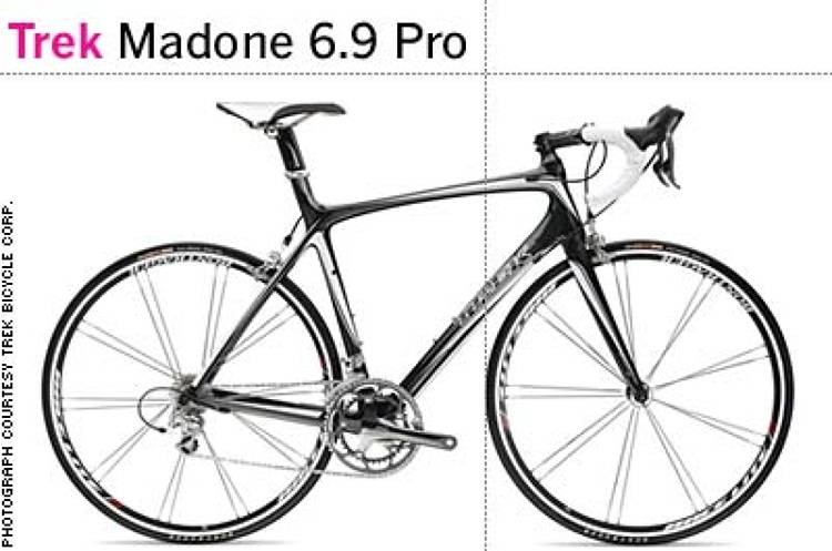 <p> &quot;It never ceases to amaze me how much innovation, design, and craftsmanship go into the development of road bikes. The new Madone line is simply beautiful, especially the Madone 6.9 Pro: It exudes speed, performance, and strength, and looks supremely comfortable.&quot; -- Alastair Curtis, Nokia </p>