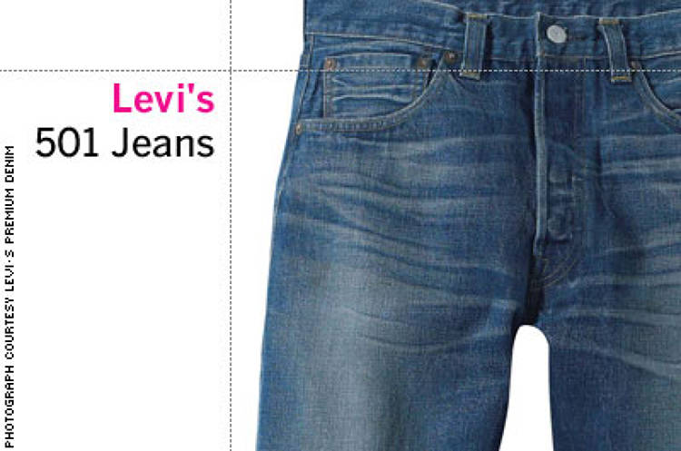 <p> &quot;An American classic that really began almost 150 years ago. Levi's are to denim what Kleenex are to tissues. They blazed the trail for everyone, and I like leaders--and being loyal to leaders.&quot; -- Tim Gunn, Liz Claiborne </p>