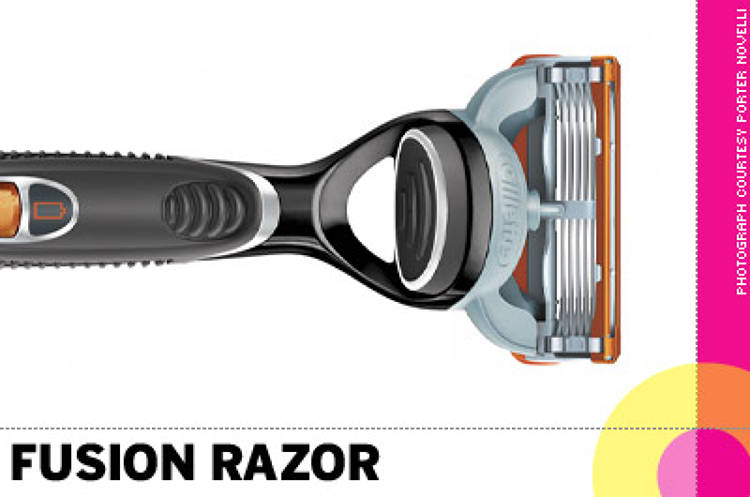 <p> &quot;The <strong>Fusion razor</strong> makes shaving a painless non-chore, plus it's way cool looking. Who would have thought it possible?&quot; -- David Lubars, BBDO </p>