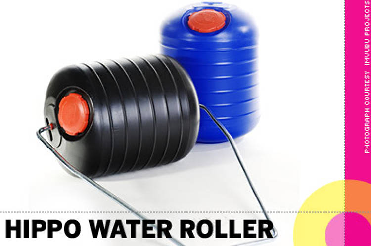 <p> &quot;Throughout the world millions of women and children spend a large part of their day carrying water great distances. With less effort and risk of injury the <strong>Hippo Water Roller</strong> allows a person to roll 90 liters of water compared to carrying the typical 20 liter pail on the head. The increased water available to the households results in improved health, hygiene, schooling, cooking, washing and food preparation.&quot; -- Dan Buchner, VP, innovation and design, Continuum </p>