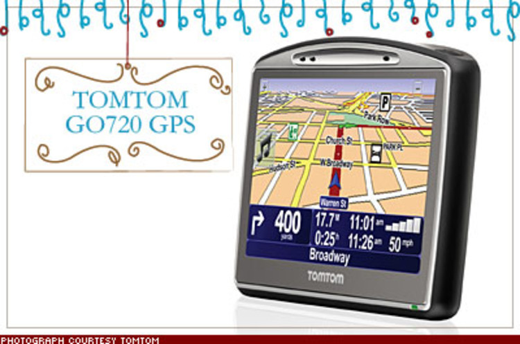 <p>TomTom marries GPS with the wisdom of crowds. The tiny touch-screen device eliminates outdated maps by allowing the company's community of millions of users to update, share, and download the latest data. $500; <a href=&quot;http://www.tomtom.com&quot; target=&quot;_blank&quot;>tomtom.com</a></p>