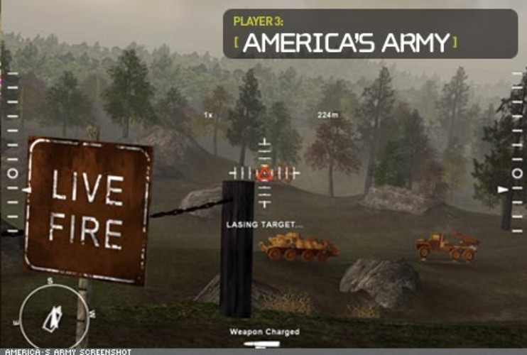 <p> America's Army mimics real weapons used by soldiers and takes players deep into the ranks for training and missions. Now available for play on the Xbox 360, the game offers players the opportunity to show off teamwork and leadership skills -- and to win prizes from the U.S. Army for excellence.  </p>