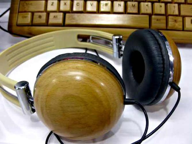 <p>There's nothing inherently green about a product, just because it's dressed up in bamboo, but if it makes you think twice about trashing them when the Jonas Brothers release their own line of headphones, then they will have done their planet-friendly little job.</p> <p>via <a href=&quot;http://www.treehugger.com/files/2010/01/ces-2010-bamboo-keyboard-mouse-headphones.php&quot;>Treehugger.com</a></p>