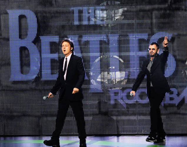 Last year, The Beatles found an unlikely digital incarnation: as 3-D avatars in the popular game <em>The Beatles: Rock Band</em>. Paul McCartney and Ringo Starr poked fun at their uncanny new representations in a launch event.