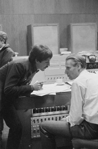"As in any laboratory, studio discoveries sometimes came accidentally. While recording the song ""Long Long Long,"" says Spizer, Paul hit an organ note that caused a bottle of cheap Blue Nun wine to rattle. The group, digging the effect, set up microphones to capture the sound."