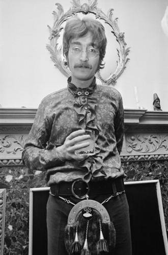"Near the end of his career with The Beatles, John tried his hand at avant-garde techniques in his work with Yoko. ""Unfinished Music No. 2: Life With the Lions"" contains a five-minute track called ""Baby's Heartbeat,"" the sound of Yoko's unborn child. But she miscarried, and the following track is called ""Two Minutes Silence."""
