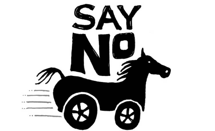 <em>&quot;Start getting into the habit of saying no--even to many of your best ideas.&quot;</em><br><br> &quot;Just Say No&quot; doesn't only apply to peer-pressured junior high kids. Learning to say no is the first step in getting your priorities straight. Only say yes to ideas that you believe in, instead of trying to make everyone happy. Keeping a stance on something and explaining your reasoning will separate you from the companies who try to take on too much.